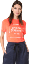 Opening Ceremony OC Logo Burnout Tee