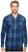 John Varvatos Western Shirt w/ Snap Chest Pocket W544T2B Men's Clothing