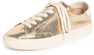 Soludos Women's Metallic Lace up Sneaker
