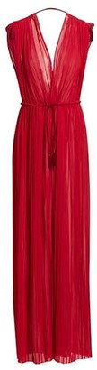 TRE by Natalie Ratabesi Minerva Chiffon Maxi Dress