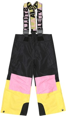 Stella McCartney Kids Colorblocked ski overalls