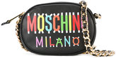 Moschino Milano oval cross-body bag - women - Leather/Metal (Other) - One Size