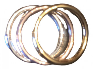 Christofle Silver Pink gold Rings