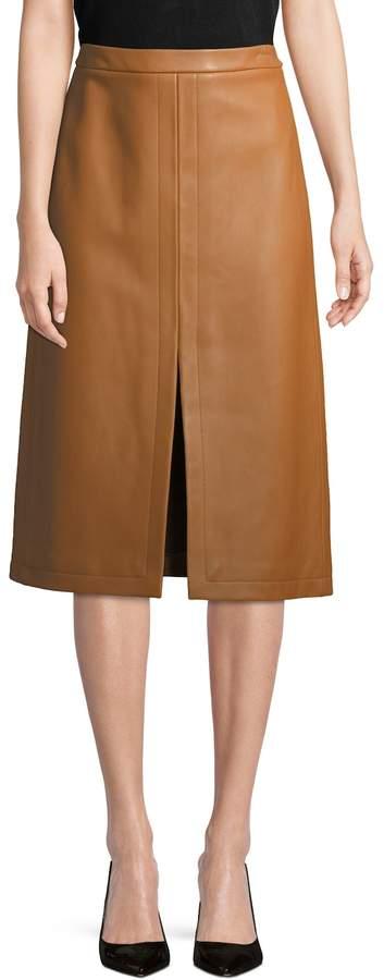 Derek Lam Women's Front Slit Pencil Skirt