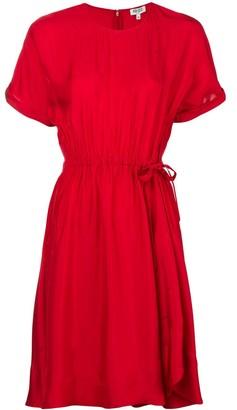 Kenzo Tie-Waist Dress