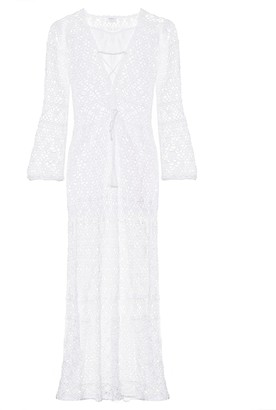 Anna Kosturova Bianca crochet cotton dress