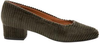 Thomas Laboratories Anne Khaki Polyester Heels