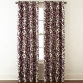 Liz Claiborne Avery Floral Grommet-Top Blackout Curtain Panel