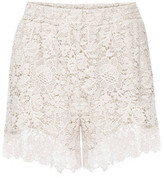 Gold Hawk Anjelica Lace Shorts