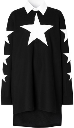 Burberry Star Motif Longline Top