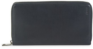 Bally Leather Zip Around Wallet