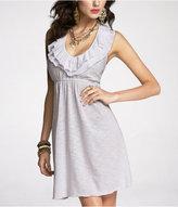 Express Ruffled Halter Dress
