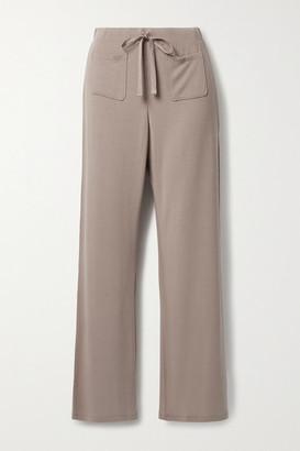 Skin Fabianna Modal-blend Jersey Pajama Pants - Tan