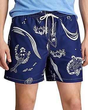 Polo Ralph Lauren Traveler Swim Trunks - Print