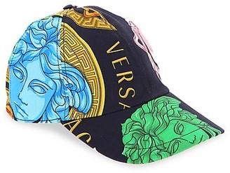 Versace Kid's Medusa Amplified Multicolor Baseball Cap