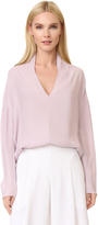 Narciso Rodriguez V Neck Blouse