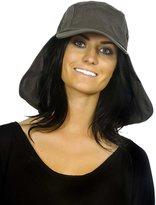 Simplicity Ear Flap Caps Sun Protection Hat Outdoor Sun Neck Shade Hat