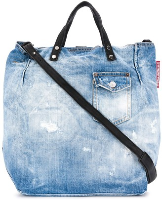 DSQUARED2 Denim Tote Bag