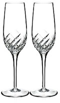 Waterford Essentially Wave Champagne Flute, Set of 2
