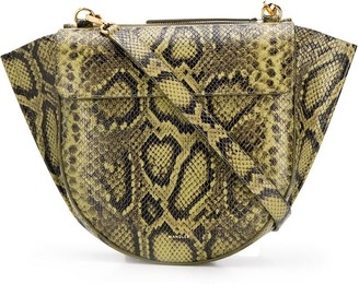Wandler Hortensia medium snakeskin shoulder bag