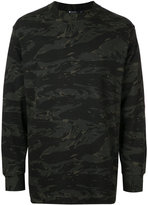 Alexander Wang camouflage print sweatshirt - men - Cotton - S