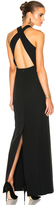 Calvin Klein Collection Kaye Long Cross Back Evening Dress