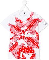 Armani Junior paisley print T-shirt