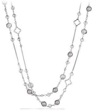 David Yurman Bijoux Bead And Chain Necklace