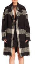 Nicholas Woven Split Overcoat