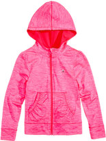 Champion Hooded Zip-Up Sweatshirt, Little Girls (2T-6X)