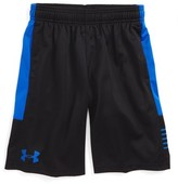 Under Armour Boy's Train To Game Heatgear Mesh Shorts