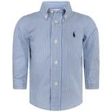 Ralph Lauren Ralph LaurenBaby Boys Blue Striped Blake Shirt