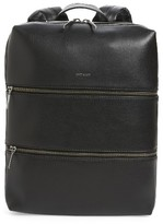 Matt & Nat Slate Faux Leather Backpack - Black