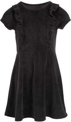 Epic Threads Little Girls Ruffled Velvet Dress