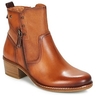 PIKOLINOS ZARAGOZA W9H women's Low Ankle Boots in Brown