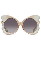 Matthew Williamson Grey Butterfly Sunglasses
