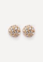 Bebe Fireball Stud Earrings
