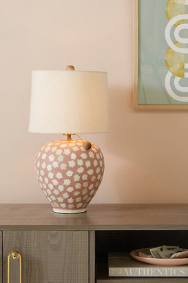 Anthropologie Avignon Table Lamp Base By in Pink Size S