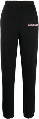 Sandy Liang Rosie logo-print track pants
