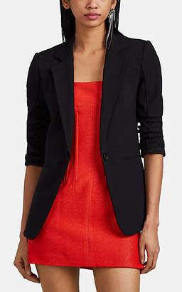 Derek Lam 10 Crosby Women's Bowery Cotton-Blend One-Button Blazer - Black