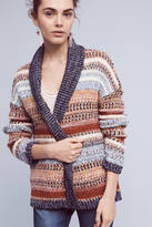 Knitted & Knotted Michela Striped Cardigan