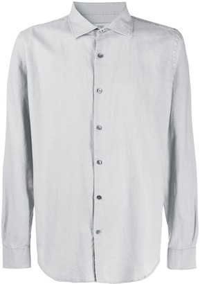 Closed Long Sleeve Relaxed Fit Shirt