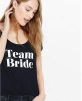 Express one eleven team bride graphic tee
