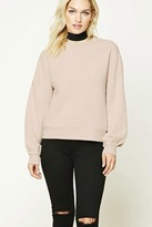 Forever 21 FOREVER 21+ Contemporary Fleece Sweatshirt