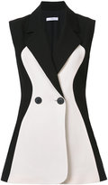 Tome knitted contrast waistcoat