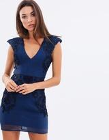 Lumier Be My Flower Cap Sleeve Mini Dress