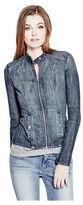 GUESS Women's Shahni Denim Jacket