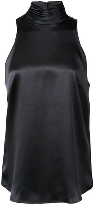 Cinq à Sept Sleeveless Silk Top