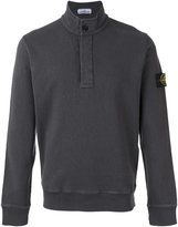 Stone Island roll neck sweatshirt - men - Cotton - S