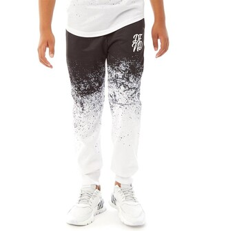 DFND London Boys Dust Joggers Black/White